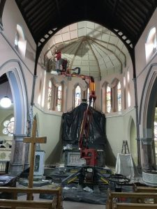 Restoration Work in Arles Church